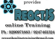 Reactjs online training from hyderabad