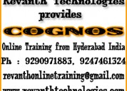 Cognos online training from hyderabad india.