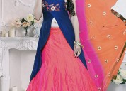 South indian lehenga choli online shopping | designer lehenga saree