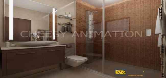 3D Home Interior Rendering Service