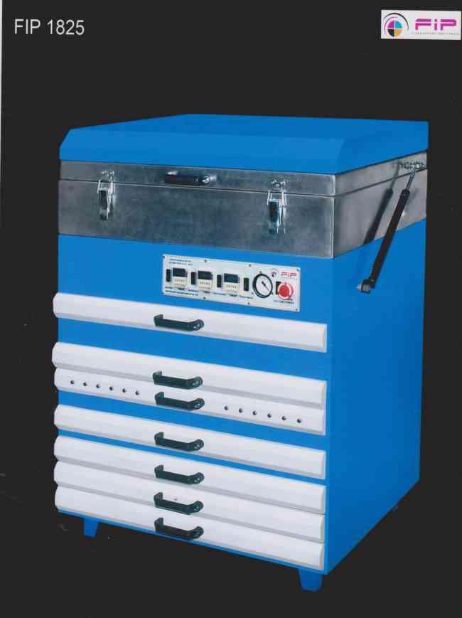 Flexo photopolymer plate making machine |(1825)