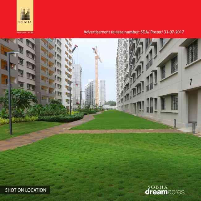 Sobha Dream series- 1 bhk apartment for sale in Bangalore