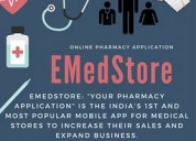 Emedstore is business mobile app & ecommerce website for any pharmacy