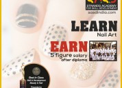 Strands academy offers certificate courses in nail art