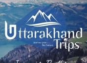 Book holiday packages with uttarakhand trips
