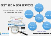 Seo freelancer in chennai, india – 9842021911 .