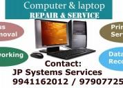 Laptop service computer service avadi pattabiram 9941162012