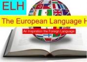 learn french german spanish italian at the european language hub