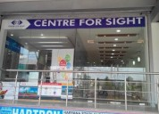 Corrected vision with lasik laser treatment at centre for sight