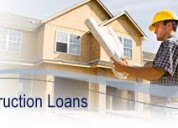 Home loan / construction loan / mortgage loan / site purchase loan. etc