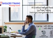 Artificial intelligence machine learning training bangalore