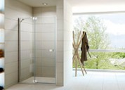 Custom, glass shower enclosures, shower doors, cubicles