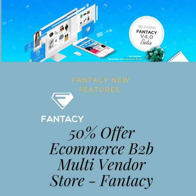 50% Offer Best Multi Vendor eCommerce Platform for Startups