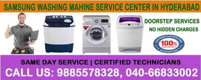 Samsung Washing Machine Repair Service Center in Hyderabad