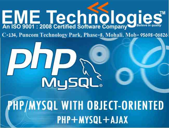 Best Php Industrial Training In Chandigarh
