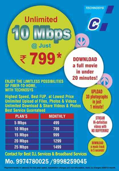 Best Internet service Provider in Ankleshwar