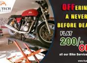 Bike service book online bangalore | 24*7 door step service