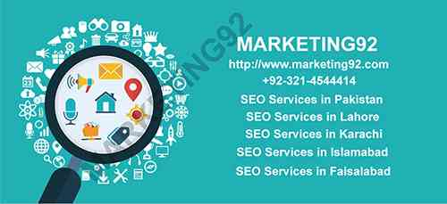 Marketing92: Top Company for SEO Services in Pakistan