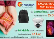 Limited offers on  cctv cameras, biometrics and video door phones