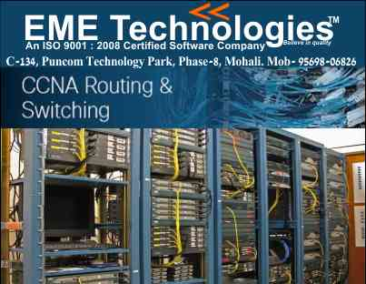 Network Training Courses In Mohali