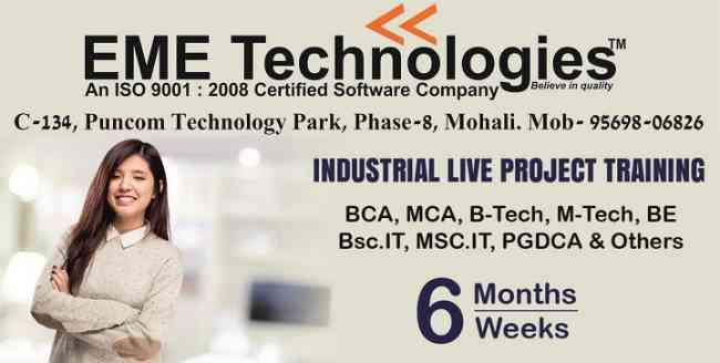 industrail training in mohali