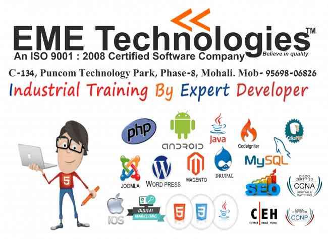 best industrial training in mohali