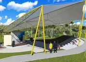 Tensile fabric   fabric structure
