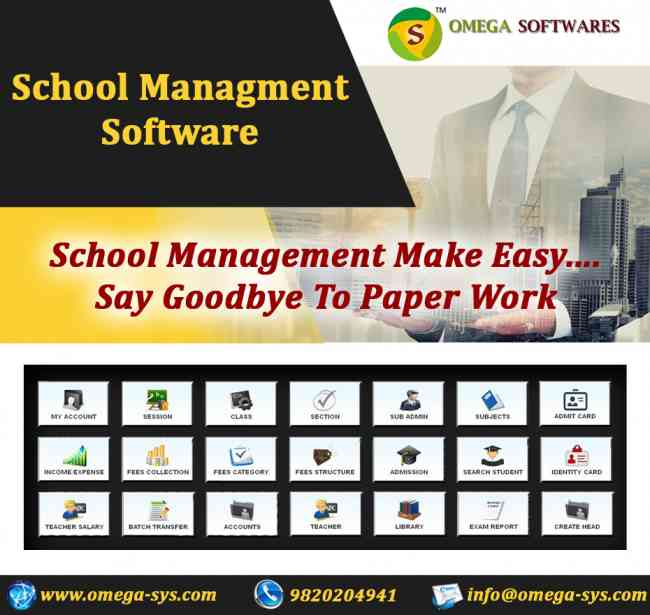 Buy School management software @ affordable price