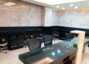 Swanky coworking spaces and meeting rooms