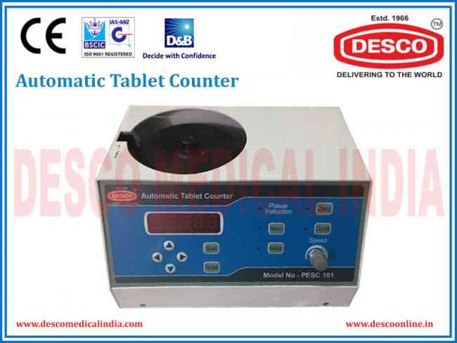 Automatic Tablet and Capsule Counter Machine