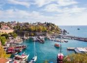 Antalya, turkey is the fifth
