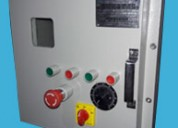 Flameproof variable frequency drive panel