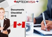 Know in detail about documents required for canada