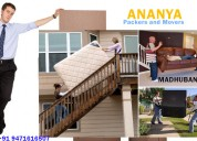 Packers movers in madhubani | ananya packers mover