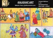 Kalighat art paintings online - must art gallery