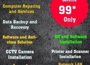 Computer services and repairing