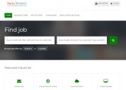 Efficient and responsive job portal website – narj