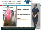 Air hostess training in india airwing aviation