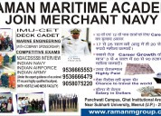 Join merchant navy and 100% placements in merchant
