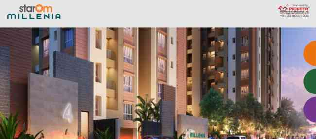 2 and 3 BHK Flats in B.T Road, North Kolkata