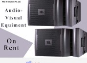 audio-visual equipment on rent from racwgitsolutio