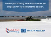 Fixit terrace waterproofing solutions from raja &