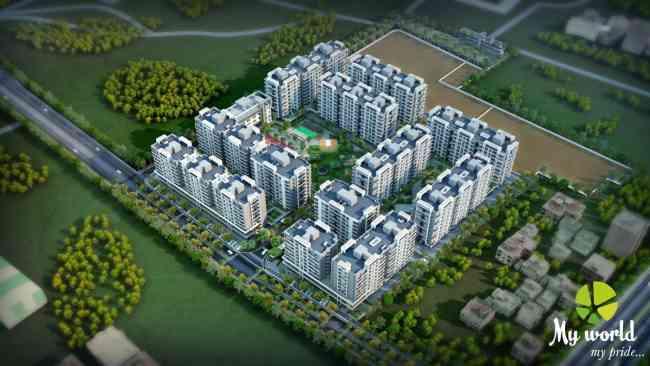 My World - Largest Township In Aurangabad