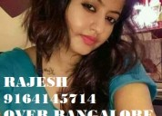 Bangalore call girls rajesh :9164145714 btm layout