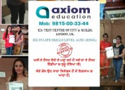 Ielts life skills level A1 esol test centre in ludhiana , jagraon
