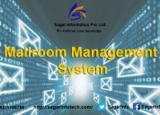 Mailroom management software