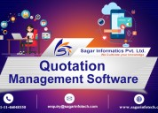 Quote management software