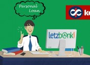 Avail personal loan from kotak mahindra bank throu