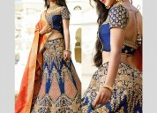 buy online lehengas from makemyorders.com