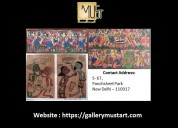 Buy jadu pata art paintings online - must art gall